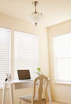 Wood Blinds For Ladera Ranch Room